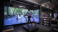 immersive digital signage experience for retail store