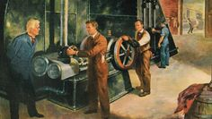 1902 - Willis Carrier starts the engine that will drive the world's first modern air conditioning system, installed in the summer of 1902 at the Sackett & Wilhelms printing plant in Brooklyn, New York.