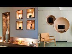 Interior Walls, Home Interior, Interior Decorating, Interior Design, Niche Design, Wall Decor Design, Beautiful Wall, Cool Walls, Modern Wall