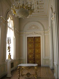 Hall: The glass Corridor at the Yusupov Palace