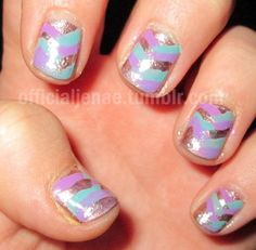 Fishtail Braid Nail Art!