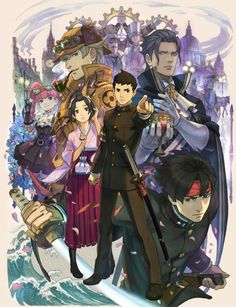 The Great Ace Attorney. I hope it gets an English release.