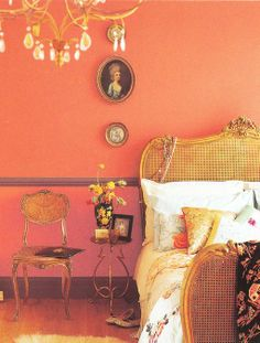 Orange Paint and Interior Decorating Color Schemes Inspired by Delicious Caramel Colors