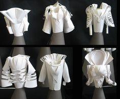 punk Paper Art, Paper Crafts, Paper Cutting, Dame, Sculpture, Inspiration, Clothes, Dresses, Design