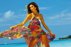 Silk Dress Tropical Feeling lookbook