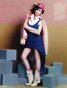 """""""소녀시대 ♛ GG ♛ 少女時代: 130218 Tiffany @ Vogue Girl March Issue v/deselim"""