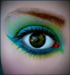 Eye make up Halloween 2012