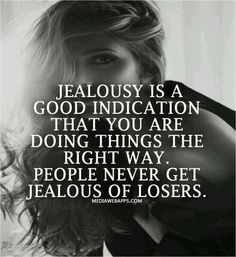 Haters are gonna hate.. jealously is for losers not winners xx