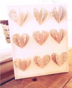 #Heart #Book #Newspaper #DIY