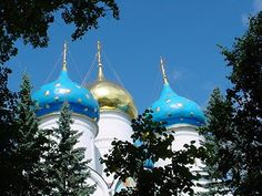 Cathedral at Sergiev Posad - travels with my mother