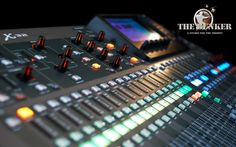 Behringer X32  40-Input, 25-Bus Digital Mixing Console with 32 Programmable MIDAS Preamps, 25 Motorized Faders, Channel LCD's, 32-Channel Audio Interface and iPad/iPhone* Remote Control