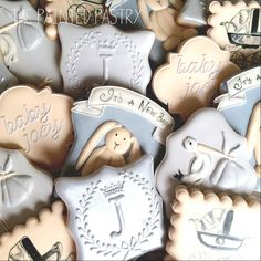 Vintage Inspired Baby Shower   Cookie Connection