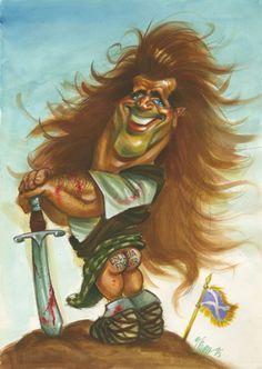 Braveheart, Mel Gibson