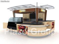 Mini food kiosk /coffee kiosk /ice cream kiosk with frozen machien / frozen yogurt kiosk-Mall Kiosk,Food Kiosk,Retail Carts,Shop Furniture Outdoor Restaurant, Cafe Restaurant, Used Food Trucks, Pop Up, Mall Kiosk, Food Kiosk, Cafe Concept, Bar Displays, Kiosk Design