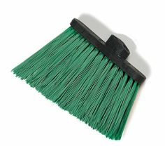 "Carlisle 3686809 Duo-Sweep Heavy Duty Unflagged Angle Broom Head, Polypropylene Bristle, 8"" Length x 12"" Width, 4-1/2"" Bristle Trim, Green by Carlisle. $8.35. Carlisle Duo-Sweep heavy duty angle broom. No hood/shroud to break or gather soils leading to cross-contamination issues. Excellent balance to reduce sweeping fatigue. Use lobby brooms with dust pans (sold separately) for continuous cleaning of convention centers, malls, and theme parks. One upright handle hole. BPA ..."