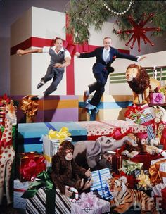 Fred Astaire and Gene Kelly - Christmas in Hollywood