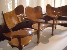 Gaudi's furniture he designed for his home
