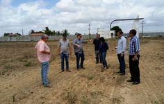 Dirigentes do ASA visitam CT com o objetivo de reiniciar obras paralisadas
