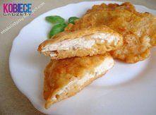 Zobacz zdjęcie Składniki: 1 pierś z kurczaka, 1 jajko, 1/3 szkl mleka, 1/2 szkl mąki pszenne...