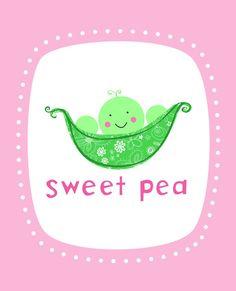 Nickname sweet pea