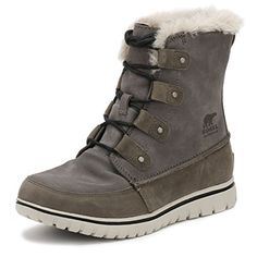 Sorel Womens Cozy Joan Booties Quarry 10 BM US ** You can find out more details at the link of the image. (This is an affiliate link)