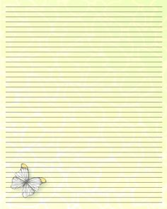 Printable Writing Paper (50) by Aimee-Valentine-Art.deviantart.com on @deviantART