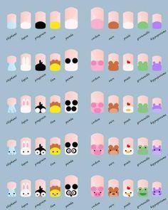 20 Diseños de Uñas de Animales - Paso a Paso - ε Diseños e Ideas originales para…