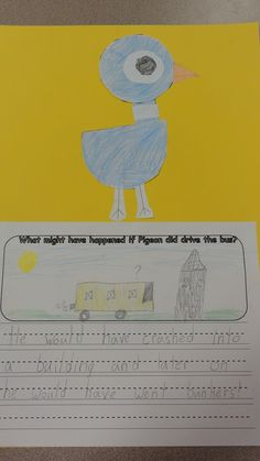 This resource provides three writing and art activities that go along with the books; Don't Let the Pigeon Ride the Bus, Cloudy with a Chance of Meatballs, and Where the Wild Things Are. These are great activities to use after reading these books to help the students build their comprehension, writing, and art skills.