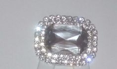 A Pair of Fashion Acrylic Rhinestone Crystal Wedding Boots Shoe Clips Jewelry #BLINGit #WeddingPartyChristmasPartyAnyParty #ShoeClipsShoeDecorations
