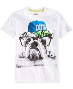 Epic Threads Little Boys' Bulldog Dude Tee