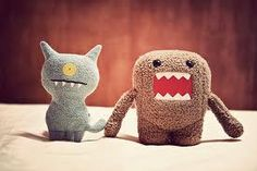 Ugly doll & Domo