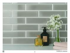 #cersaie2016 #ceramic #tile #wesport #silk #colour #reposegray #aqua #softcolours #madeinitaly #ravenna #ceramicasenio #senio #tharros #brick #earth #luna Decor, Repose Gray, Ceramics, Home, Soap Dispenser, Vase, Mosaic, Interior Design, Interior Deco