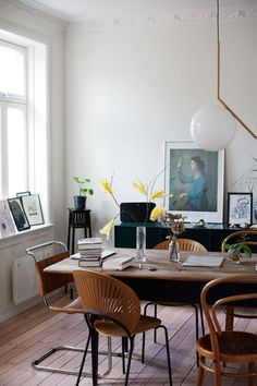 my scandinavian home: The relaxed Norwegian home of Maja Hattvang  #DiningRoom #designideas