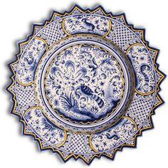 Portuguese decorative plate.