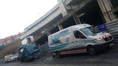 Camion y furgoneta de Desatascos Isurbide