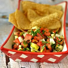 """Apple Tomato SalsaI """"This has a great blend of flavors and is a good alternative to those spicy salsas although I wouldn't hesitate to add diced jalapeno."""""""