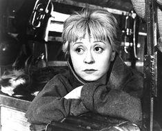 Giulietta Masina in La Strada ((1954)
