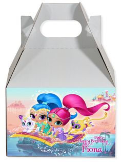 Shimmer and Shine Gable Box