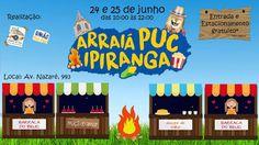 ♥ Arraiá PUC Ipiranga promove sua segunda edição com muita animação e novidades ♥ SP ♥  http://paulabarrozo.blogspot.ch/2017/06/arraia-puc-ipiranga-promove-sua-segunda.html