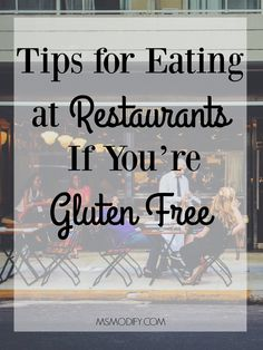 Tips for Eating at Restaurants If You're Gluten Free - MsModify - Recipes Easy Lactose Free Diet, Lactose Free Recipes, Sans Lactose, Gluten Free Desserts, Sans Gluten, Diet Recipes, Cooking Recipes, Gluten Free Diet Plan, Gluten Free Menu