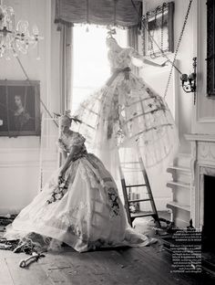 """before you kill us all: EDITORIAL LOVE Magazine #10 """"The Lion King"""" Feat. Edie Campbell & Karen Elson by Tim Walker"""