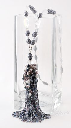 Tassel Jewelry, Tassel Necklace, Beaded Jewelry, Handmade Jewelry, Jewelry Necklaces, Jewellery, Pendant Earrings, Pendant Jewelry, Gemstone Jewelry