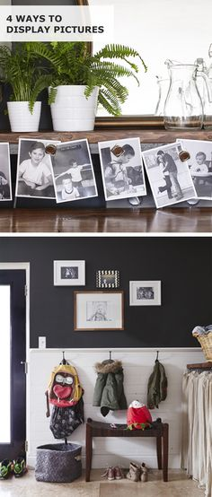 Photo displays are a fun way to remember what's most important in life: being together! Blogger Dana shares tips for personalizing the home with gallery walls, magnetized prints and more! Photography by Laura Moss. Styling by Emily Rickard. Follow Dana at housetweaking.com.