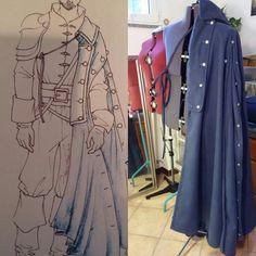 love that cloak Larp, Men's Accessories, Men's Renaissance Costume, Street Fashion Tumblr, Musketeer Costume, Milady De Winter, Luke Pasqualino, Fantasy Costumes, Cosplay