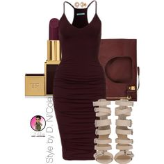 Untitled #2409 by stylebydnicole on Polyvore featuring Tom Ford and Allurez