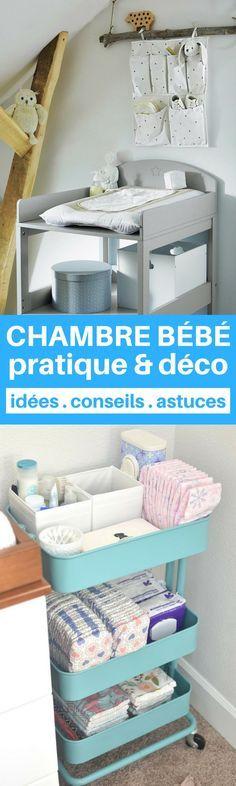 Une chambre bébé à la fois pratique et déco ? C'est possible > 17 astuces de parents à découvrir !