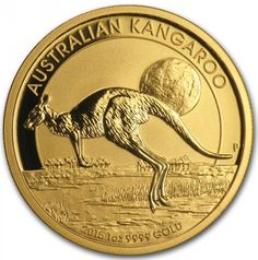 9 Australian Kangaroo Gold Coin Ideas Gold Coins Gold Gold And Silver Coins