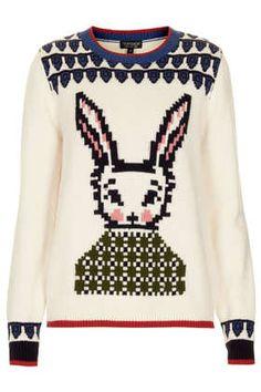 Top Shop Knitted Wool Week Jumper in Cream, $96 Item code: 23H14ECRM