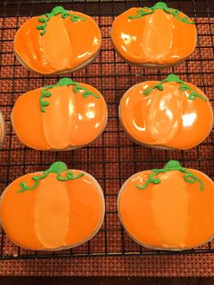 Pumpkins from the patch sugar cookies