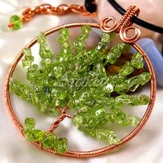 Tree of Life Wire Wrapped Pendant Tutorial - Step by Step Jewelry Instruction - Digital Download PDF